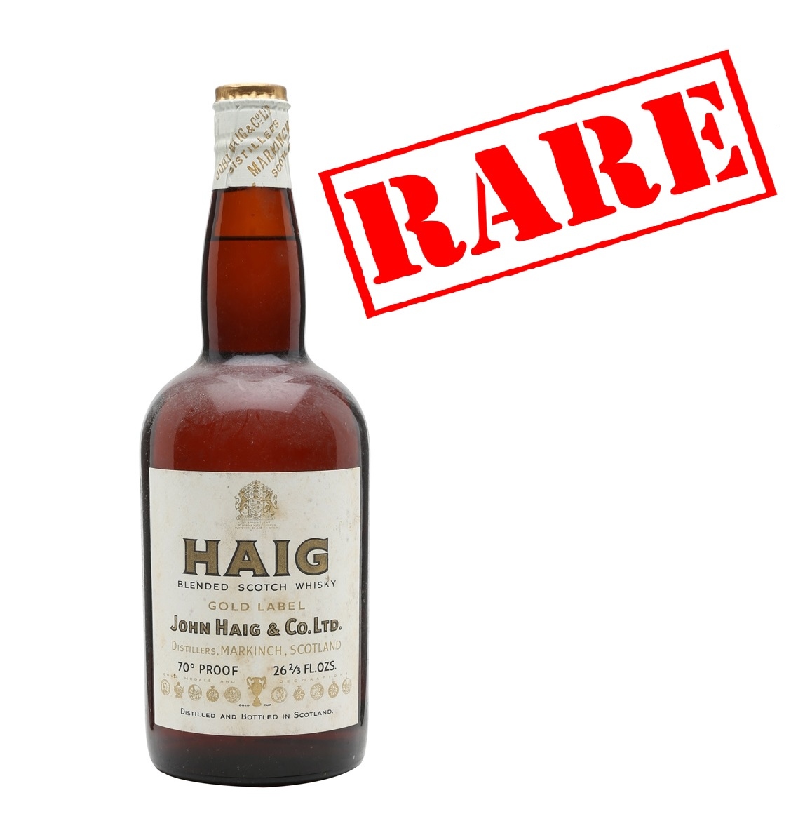 This is a picture of Impertinent Haig Gold Label Original Blended Scotch Whisky
