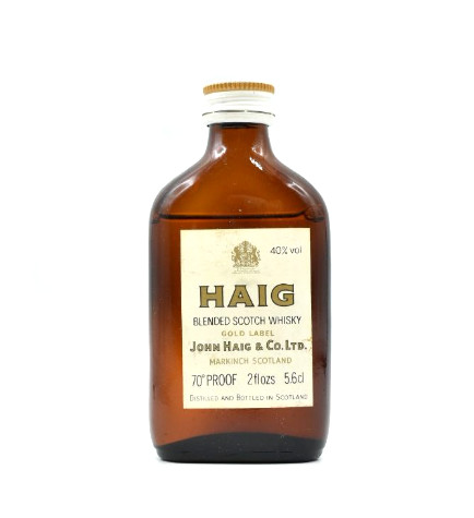 Haig Gold Label Blended Miniature - 5.6cl 70 Proof
