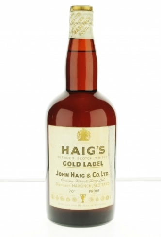 Haig\'s Gold Label 1960s Blended Scotch Whisky - 70 Proof
