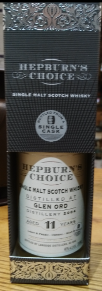 Hepburns Choice Glen Ord 11 Year Old - 20cl 46%