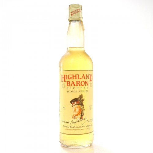 Highland Baron Blended Scotch Whisky - 70cl 40%