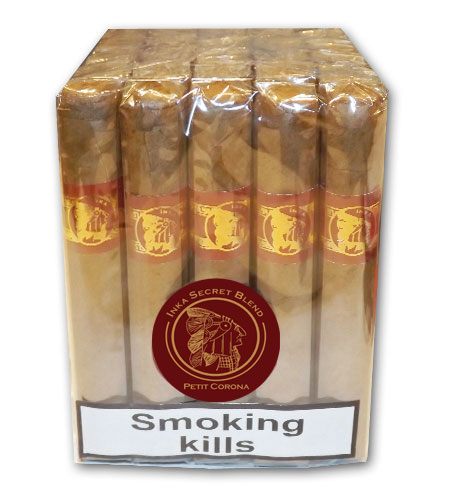 Inka Secret Blend Red Petit Corona Cigar - Bundle of 25