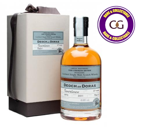 Inverleven 37 Year Old 1977 Deoch an Doras Single Malt Scotch Whisky - 70cl 49%