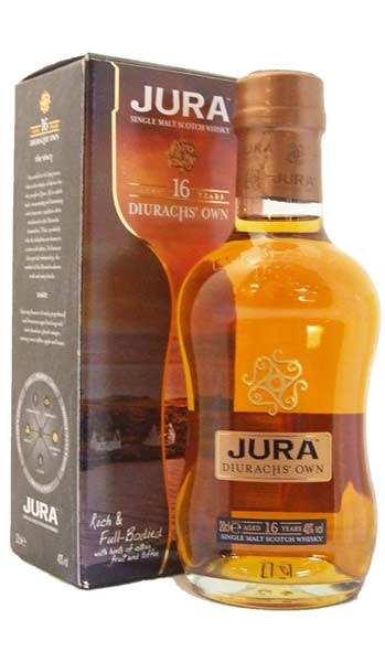 Isle of Jura 16 Year Old Malt Whisky - 20cl 40% (Discontinued)