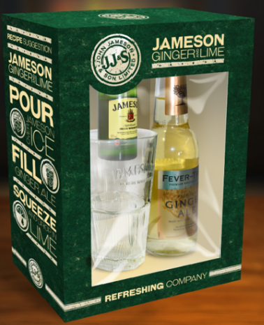 Jameson & Ginger Ale Gift Pack