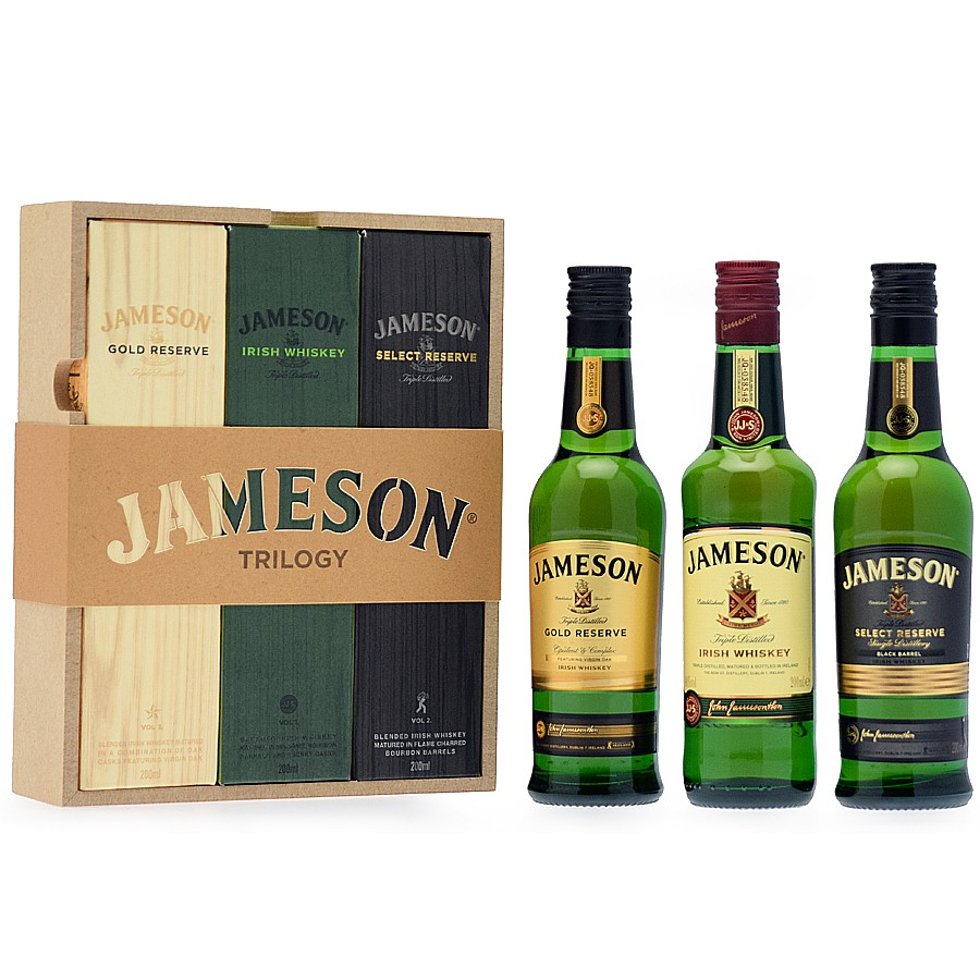 Jameson Trilogy Pack - 3x20cl 40%