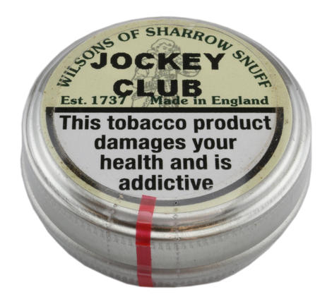 Wilsons of Sharrow Snuff - Jockey Club - Small Tin - 5g