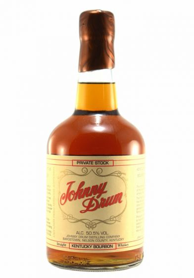 Johnny Drum Private Stock Kentucky Straight Bourbon Whiskey - 70cl 50.5%