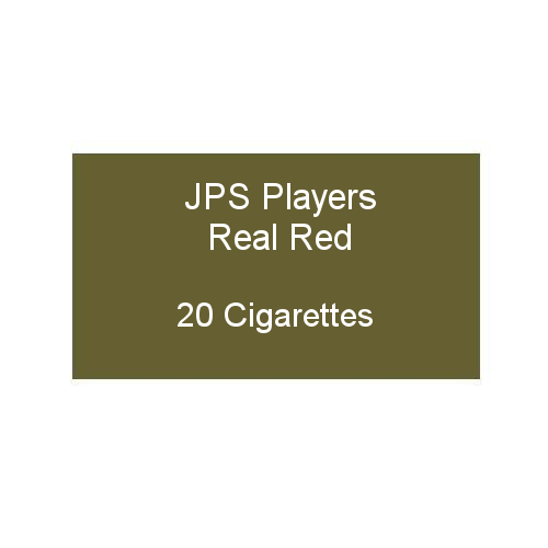 JPS Players Real Red - 1 pack of 20 cigarettes (20)