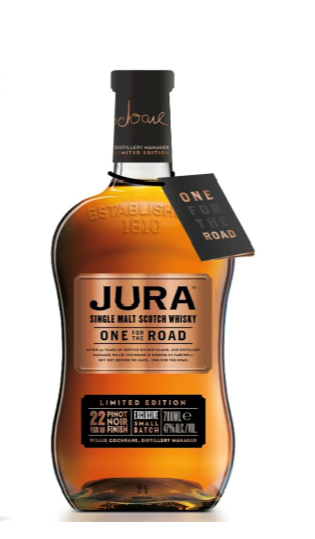 Isle of Jura One For The Road Malt Scotch Whisky - 70cl 47%
