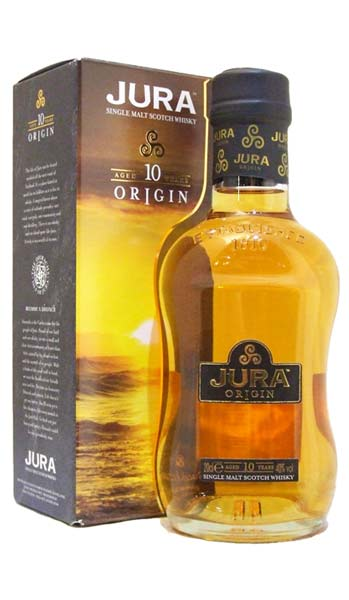Isle of Jura 10 Year Old Origin Malt Scotch Whisky - 20cl 40% (Discontinued)