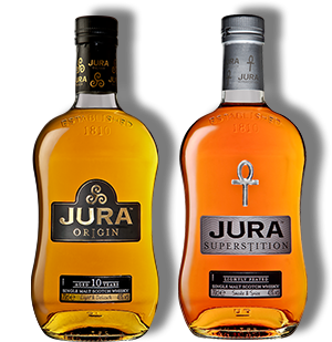 Isle of Jura Sweet and Smoky Gift Pack 2 x 20cl