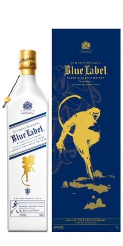 Johnnie Walker Blue Label Year Of The Monkey Whisky - 70cl 43%