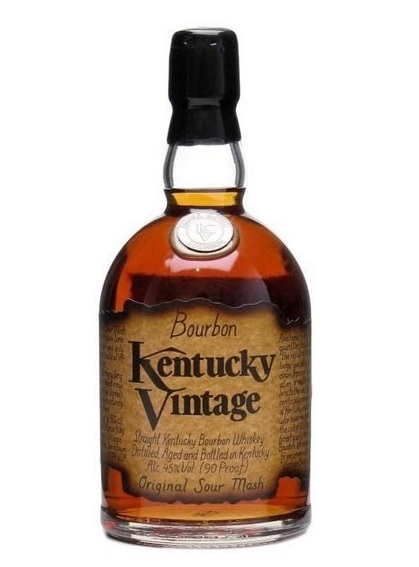 Kentucky Vintage Small Batch Kentucky Straight Bourbon Whiskey - 75cl 45%