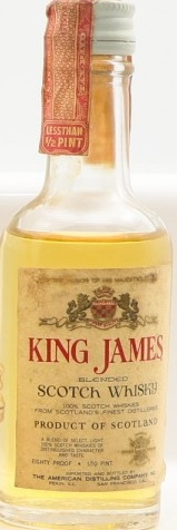 King James Blended Scotch Whisky Miniature - 5cl