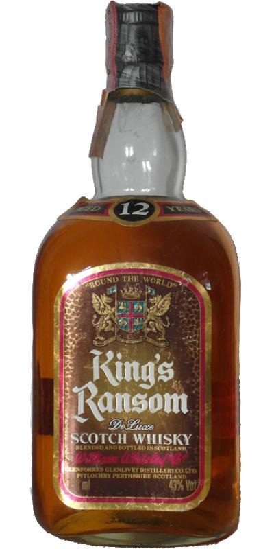 King\'s Ransom 12 Year Old De Luxe Blended Whisky - 75cl 43%