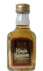 King\'s Ransom 12 Year Old Scotch Whisky Miniature - 5cl 43%