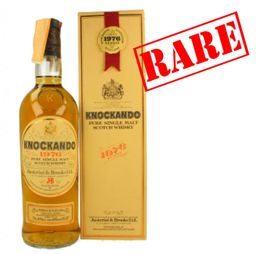 Knockando 1976 Season 1990 J&B Pure Malt Whisky - 75cl 43%
