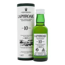 Laphroaig 10 Year Old Miniature - 5cl 40%