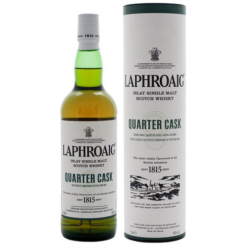 Laphroaig Quarter Cask Single Malt Scotch Whisky - 70cl 48%