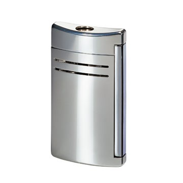 ST Dupont Lighter – Maxijet – Chrome Grey