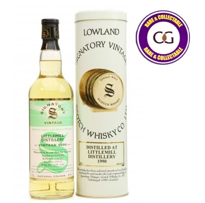 Littlemill 12 Year Old 1990 Signatory Vintage Single Malt Scotch Whisky - 70cl 4