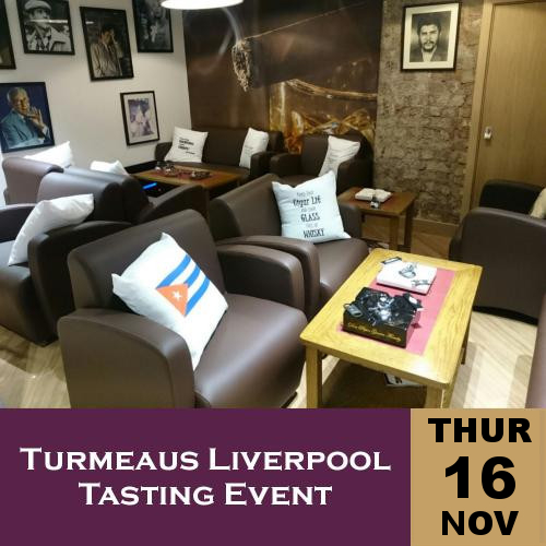 Turmeaus Liverpool Whisky & Cigar Tasting Event - 16/11/17