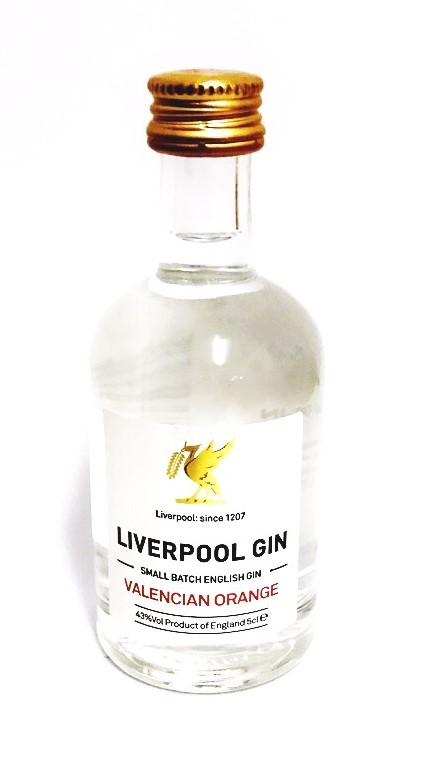 Liverpool Valencia Orange Gin Miniature - 5cl 42%