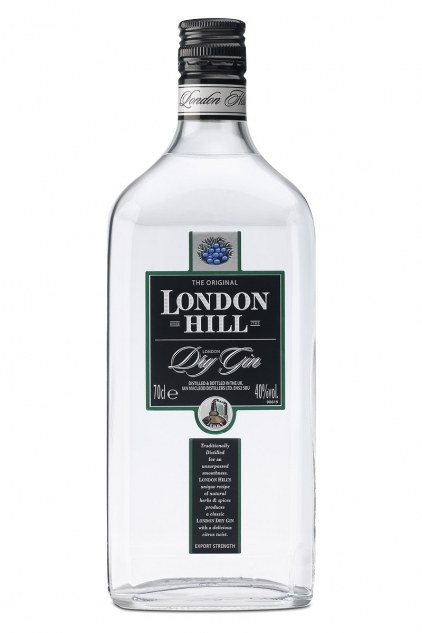 London Hill London Dry Gin - 70cl 40%