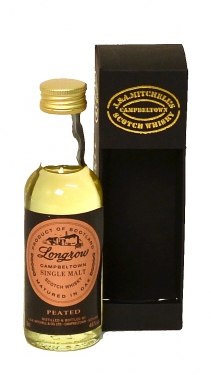 Longrow Peated Single Malt Scotch Whisky Miniature - 5cl 46%