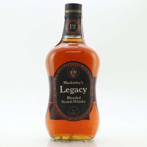 Mackinlays Legacy 12 Year Old 1960/70s Blended Scotch Whisky - 70cl