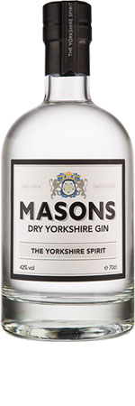 Masons Yorkshire Gin - 70cl 42%