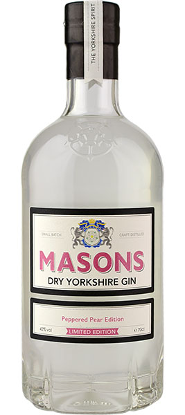 Masons Peppered Pear Edition Gin - 70cl 42%
