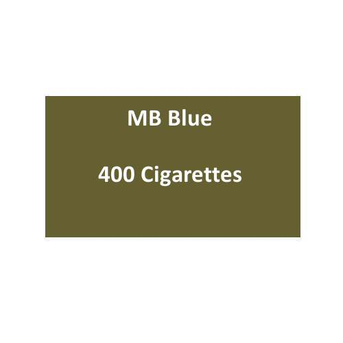 MB Blue Cigarettes - 20 packs of 20 cigarettes (400)