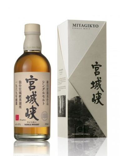 Nikka Miyagikyo Single Malt Whisky 50cl - 43%