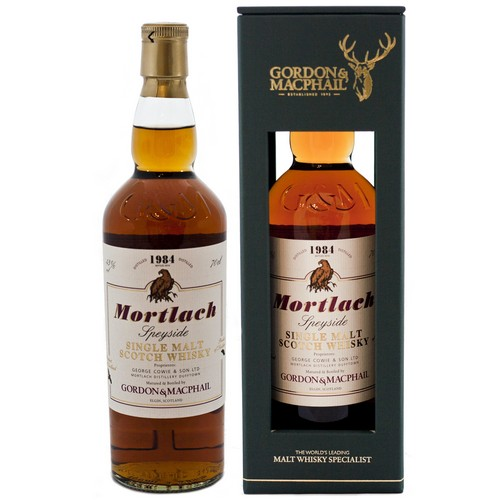 Mortlach 1984 Single Malt (30 year old) Scotch Whisky - 70cl 43%