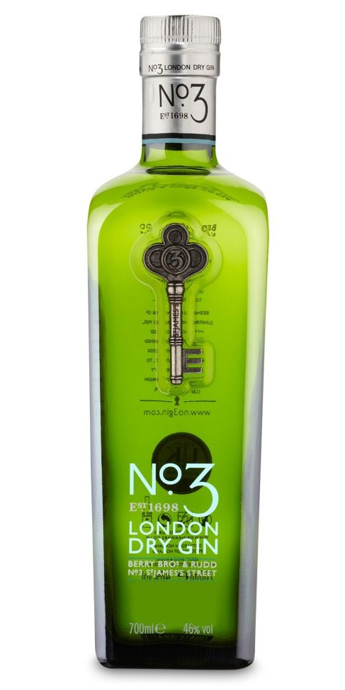 No.3 London Dry Gin - 70cl 46%