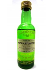 North Port Brechin 17 Year Old Cadenheads Miniature Whisky - 5cl 40%