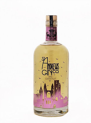 Old St Andrews Pink Grapefruit Gin - 70cl 43%