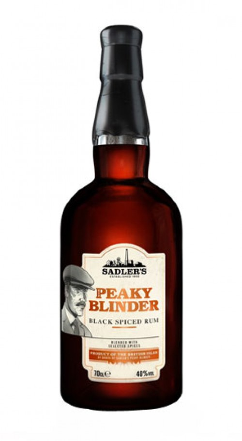 Peaky Blinders Black Spiced Rum - 70cl 40%