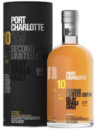 Bruichladdich Port Charlotte Ten Year Second Limited Edition Whisky - 70cl 50%