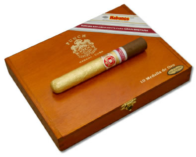 Punch Medalla De Oro Cigar UK regional edition