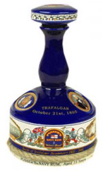 Pussers Trafalgar 15 Year Old Ceramic Decanter - 100cl 47.75%