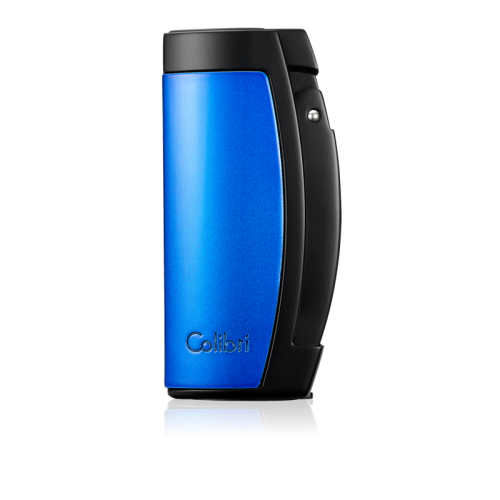 Colibri Enterprise - Triple Jet Lighter - Black and Blue