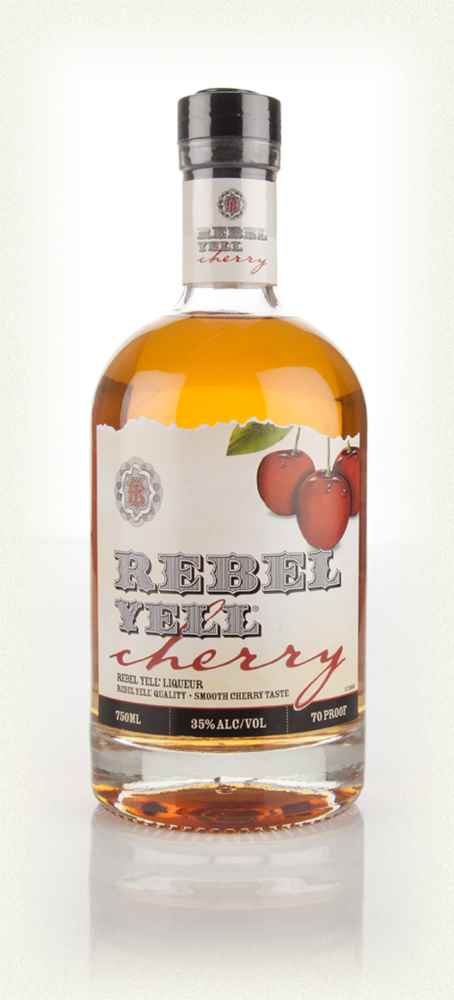 Rebel Yell Cherry Bourbon - 70cl 35%