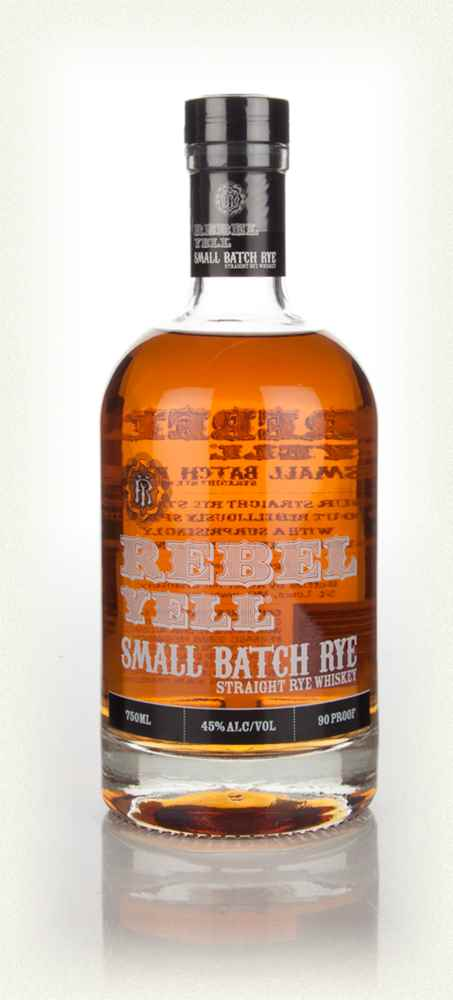 Rebel Yell Small Batch Straight Rye Whiskey - 75cl 45%