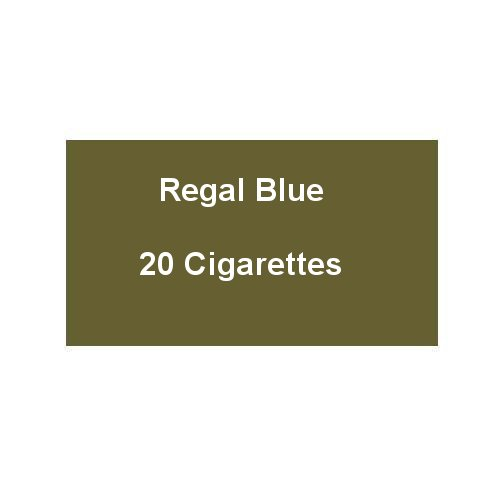 Regal Blue - 1 Pack of 20 Cigarettes (20)