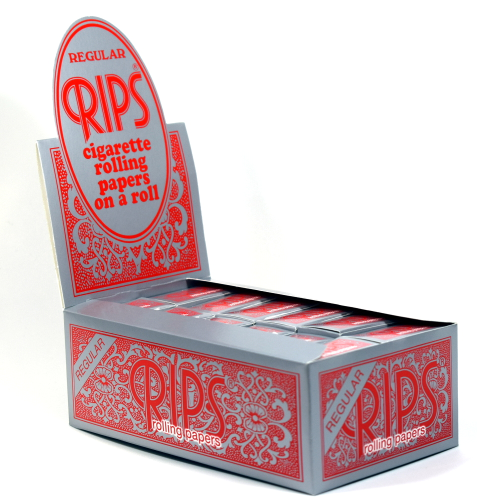 Rips Red Rolling Paper Regular 24 Pack