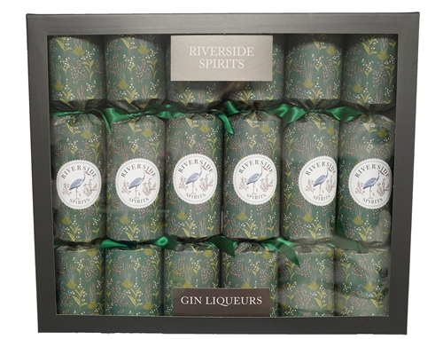 Riverside Gin Liqueur Shimmer Christmas Crackers