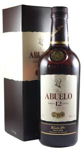 Ron Abuelo 12 Year Old Rum - 70cl 40%